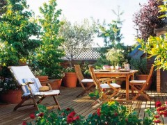 庭院地面铺什么材料比较好?这种材料,简便,美观自然