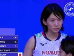 积分榜:日本女排3-2大逆转基本杀进总决赛!中国女排争4迎利好