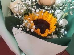 天津滨海:最美的鲜花 赠予最可爱的人